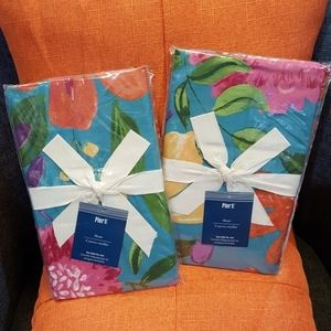 Set of 2 Standard Pillow Shams from Pier 1 Imports